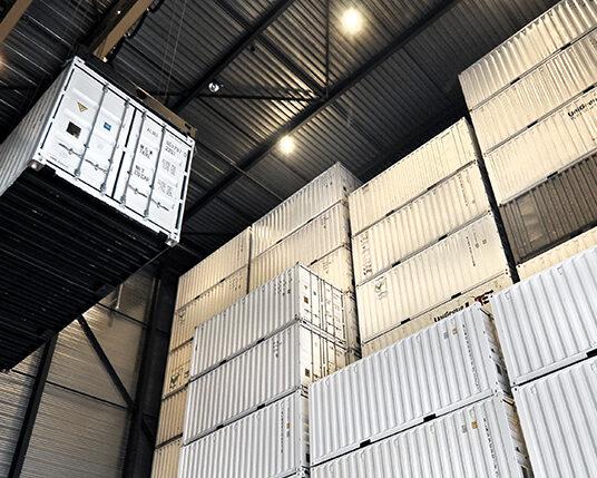 containeropslag inladen