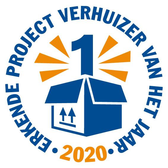 Erkende projectverhuizer van het jaar 2020