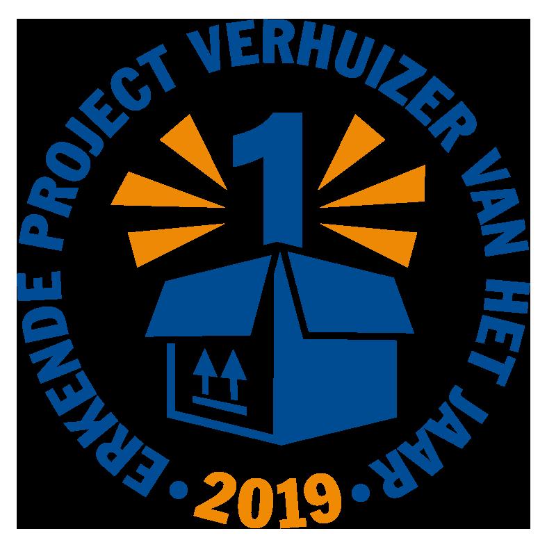 Erkende Projectverhuizer van het jaar 2019