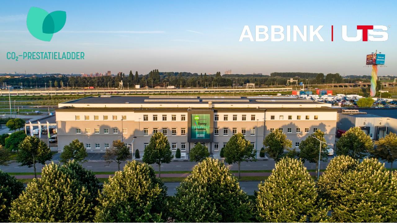 Abbink UTS Gecertificeerd CO²-prestatieladder niveau 3